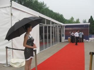 小跨度玻璃门篷房 (5)