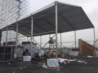 正定旅游博览会特装安装篷房